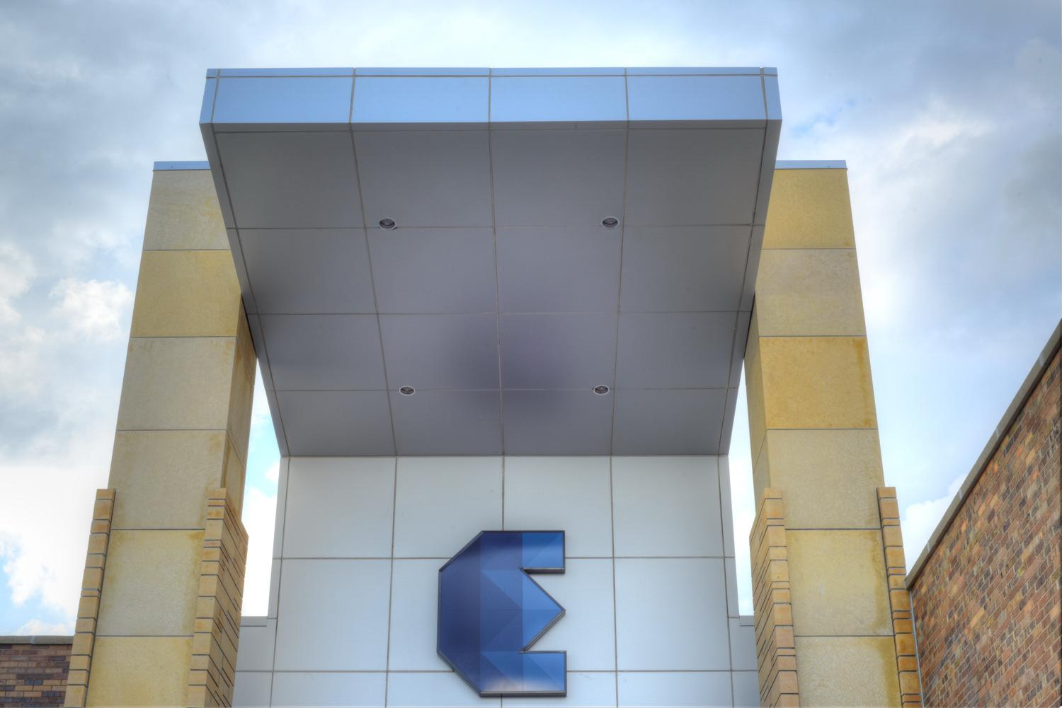 Aluminum Composite Panels at Madison East Center