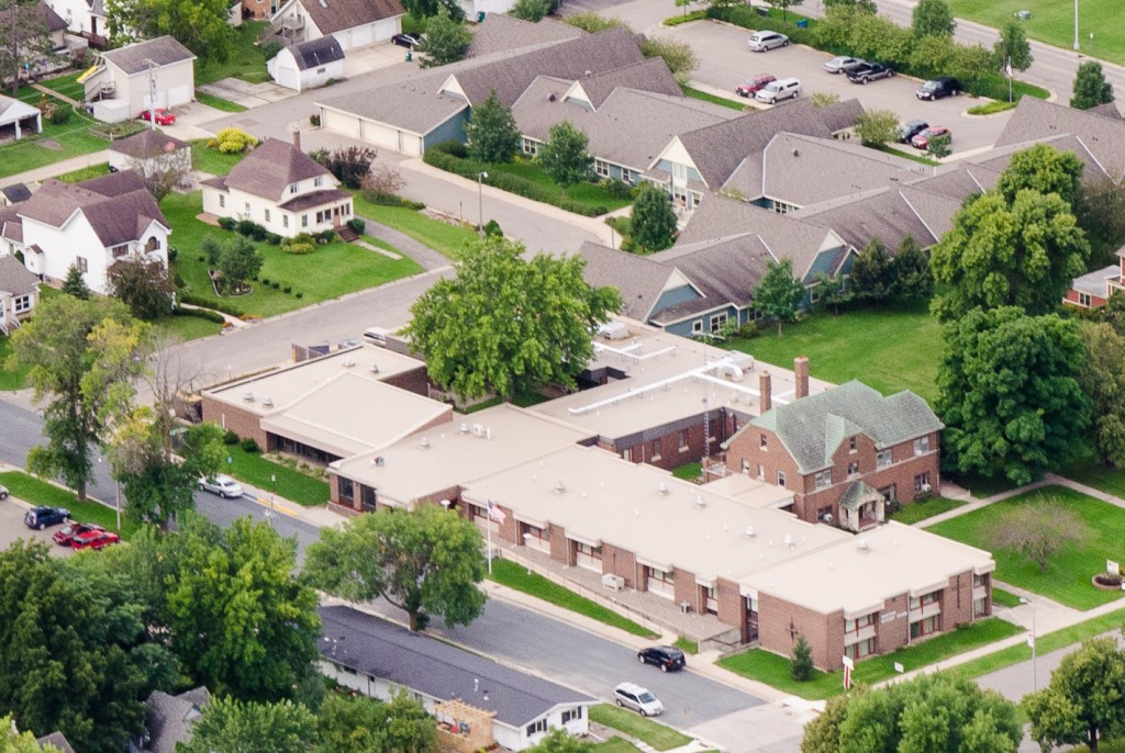 Kenyon Sunset Home aerial view