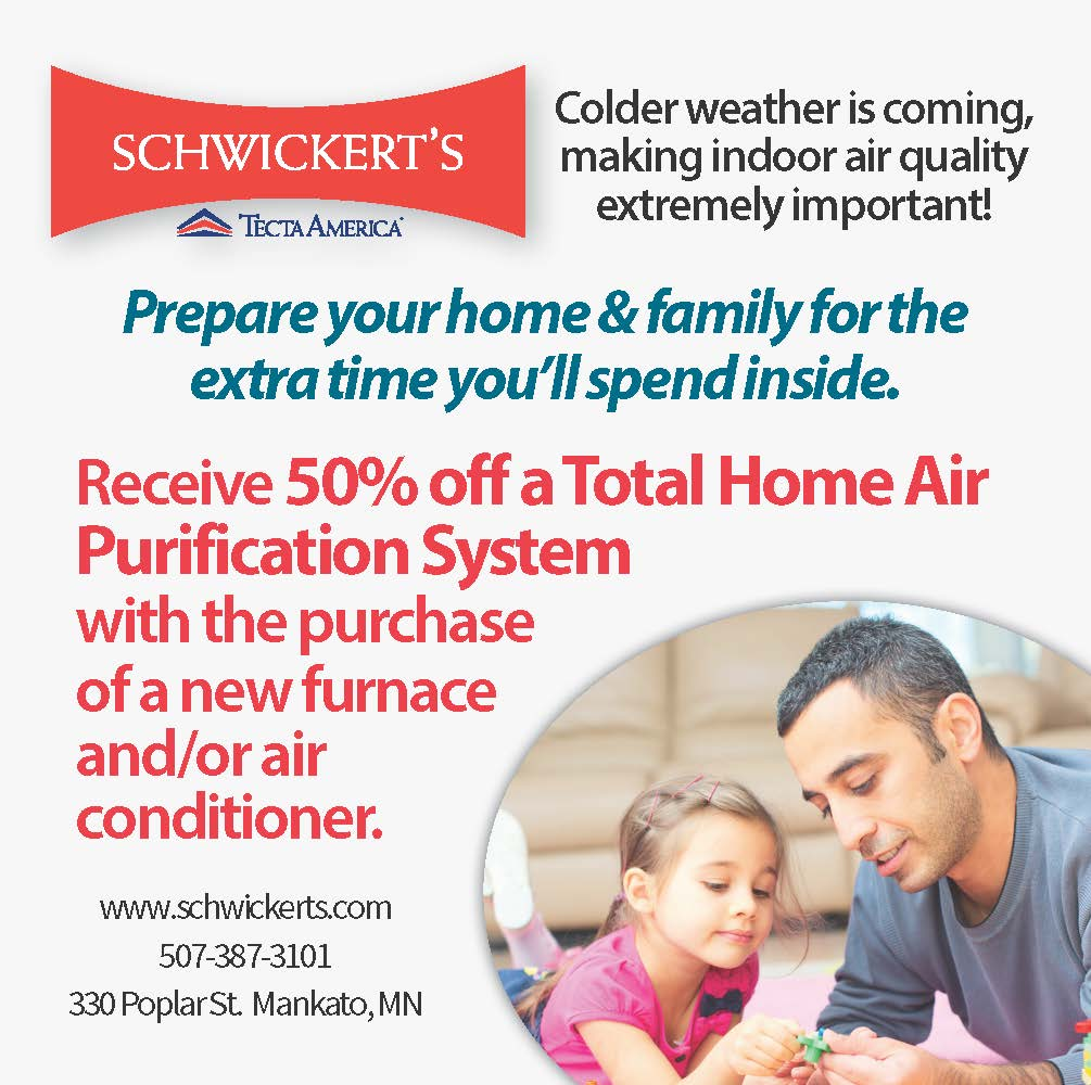 Schwickert's Residential Promotions. Heating and Air Conditioning   Furnace & Air Purification System